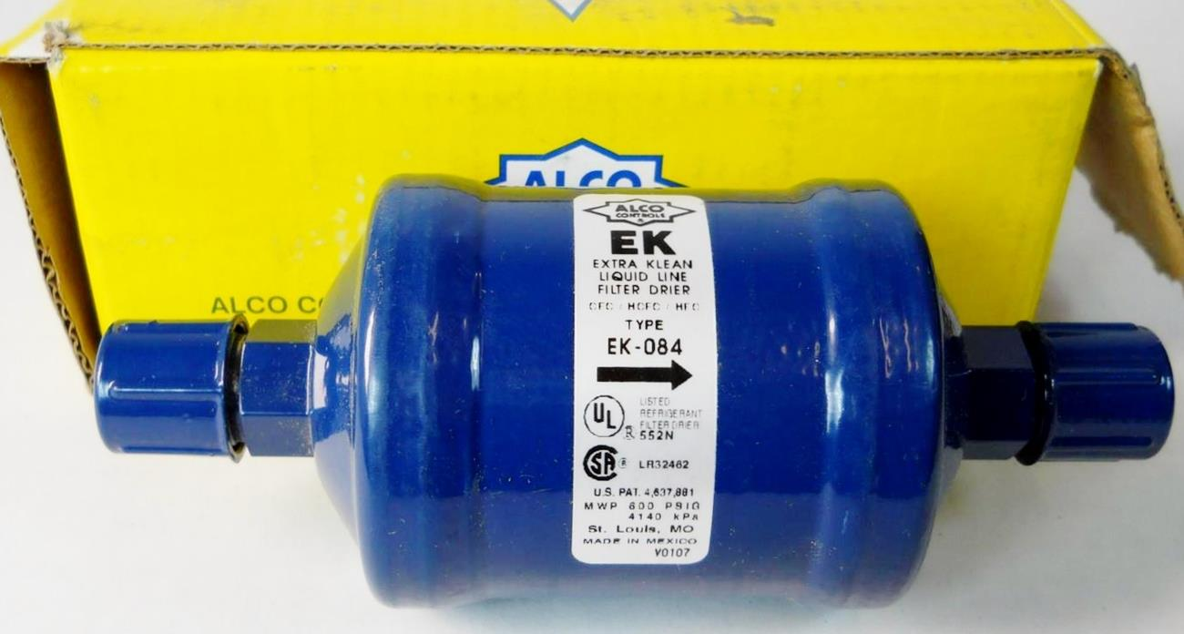 Alco ek 084 liquid line filter drier extra clean 1 2 for Liquid template filters