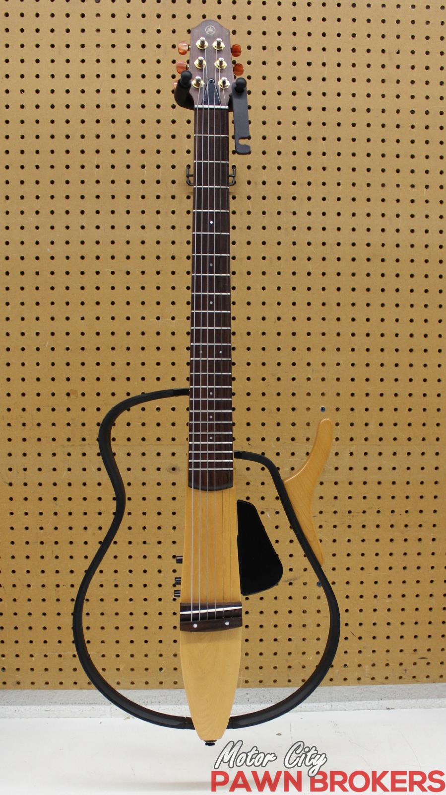 Yamaha slg 100s right hand steel string silent for Yamaha slg200s steel string silent guitar