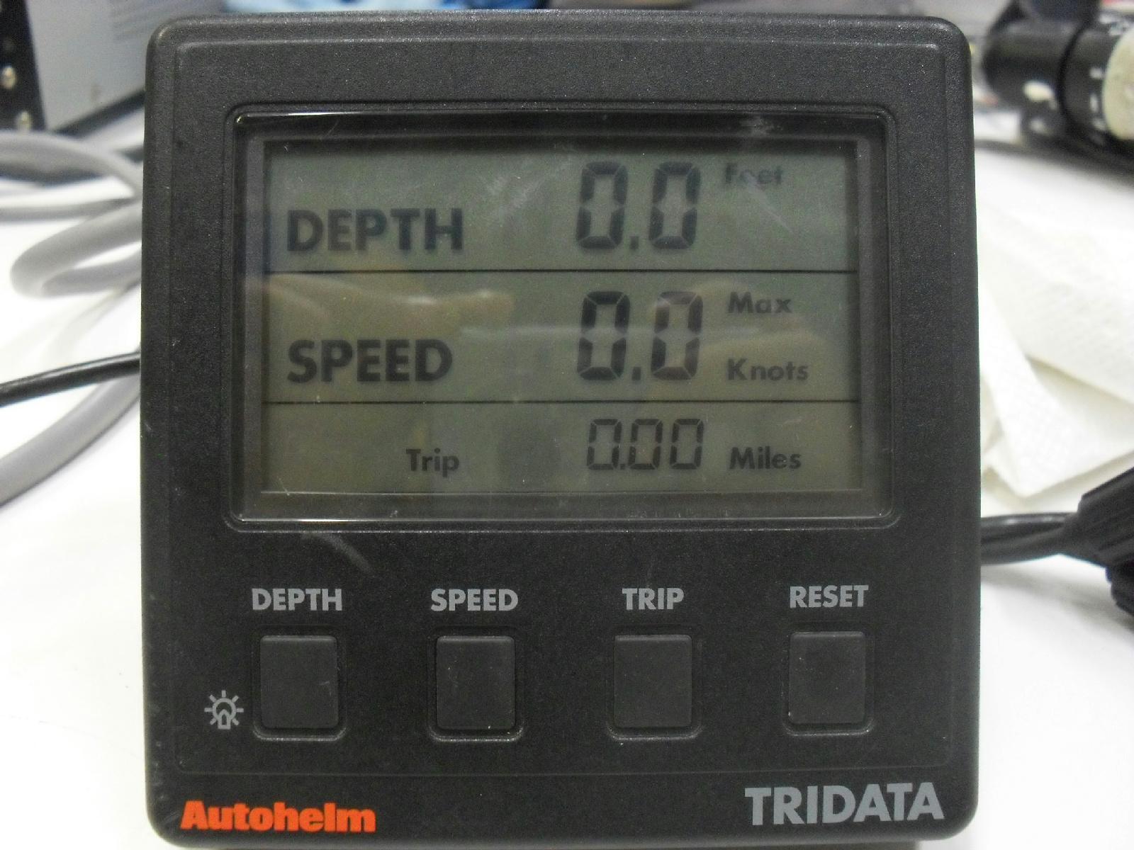 Lot Of 2 Parts  Repair Raytheon  Autohelm St50 Tridata