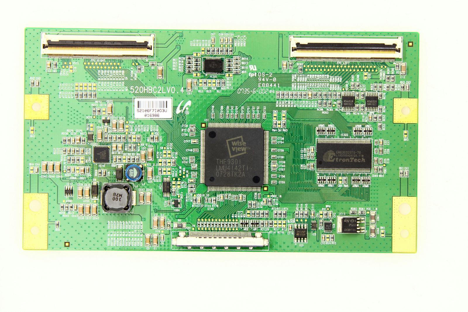 Sony KDL-52S5100 T-Con Board LJ94-02106F