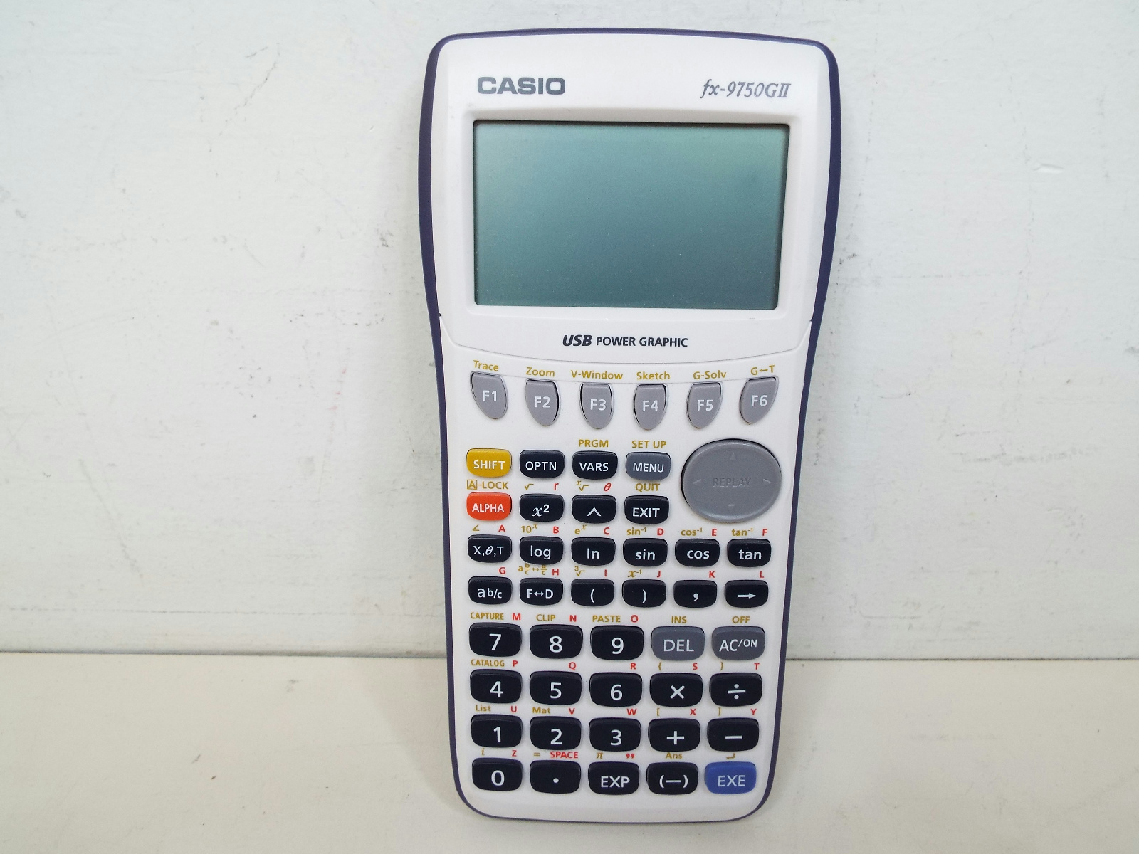 Details about casio fx 9750gii graphing calculator w usb port bundle