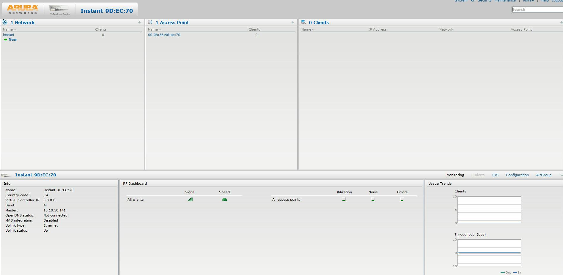 Aruba Wireless Access Point IEEE 802 11n RAP-155 (Non-US