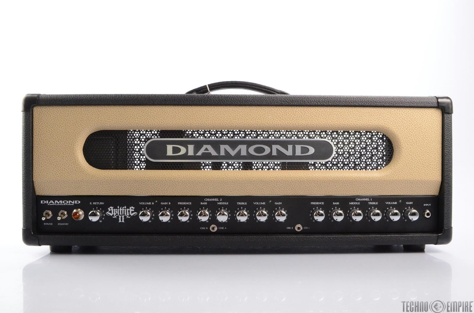 Diamond Spitfire II 2-Channel 100-Watt Tube Guitar Amp Head (NEW) #23419
