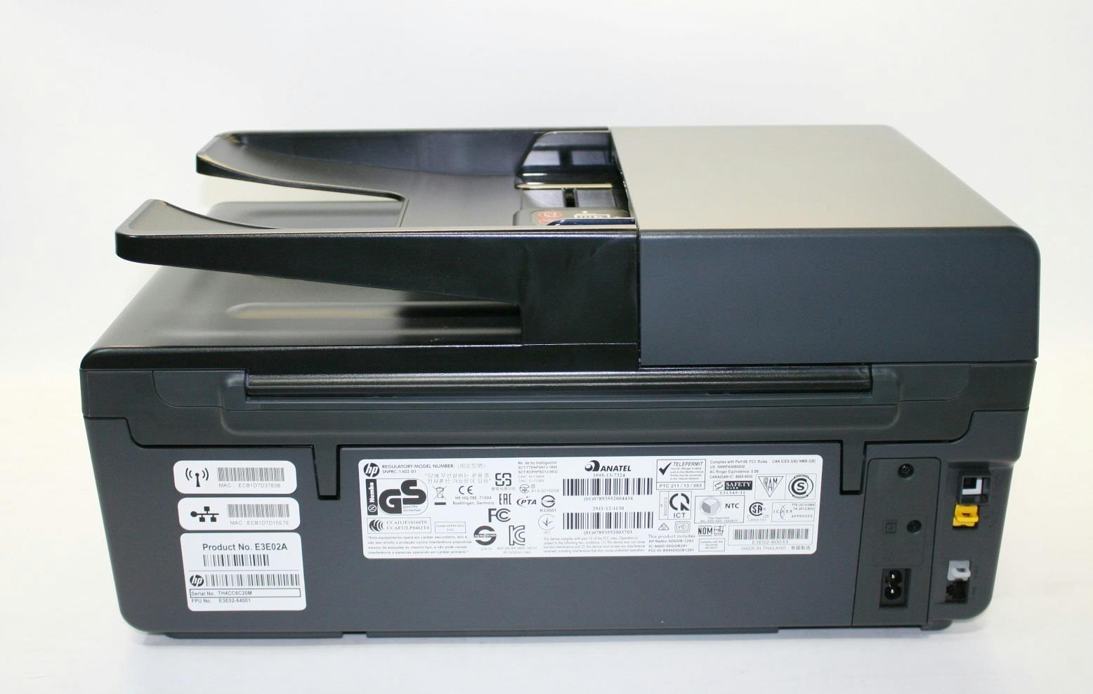 hp officejet pro 6830 e all in one printer for parts e3e02a b1h 800131886 ebay. Black Bedroom Furniture Sets. Home Design Ideas