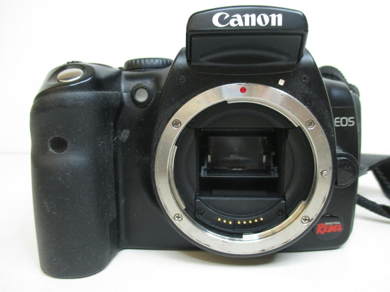 Canon Digital Rebel Model Ds6041 Camera Bundle For Parts