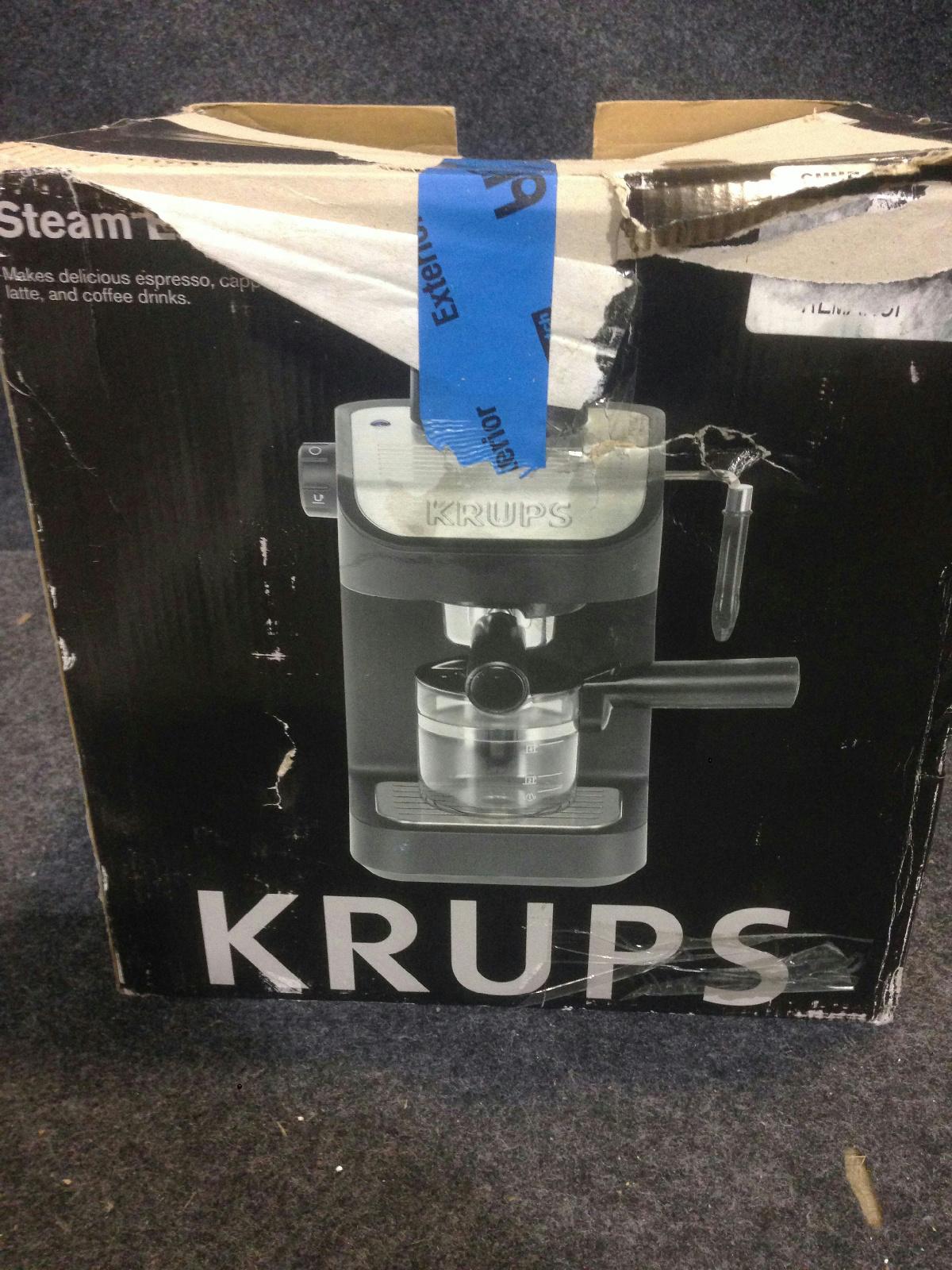 krups xp 1020 espresso machine