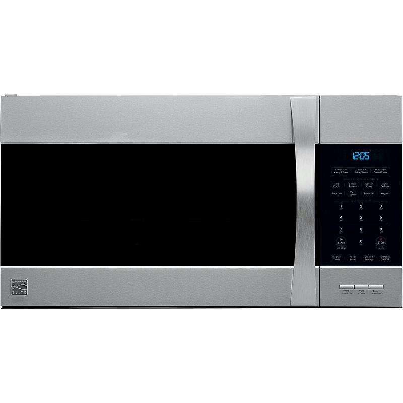 Kenmore Elite 1 5 Cu Ft Over The Range Microwave
