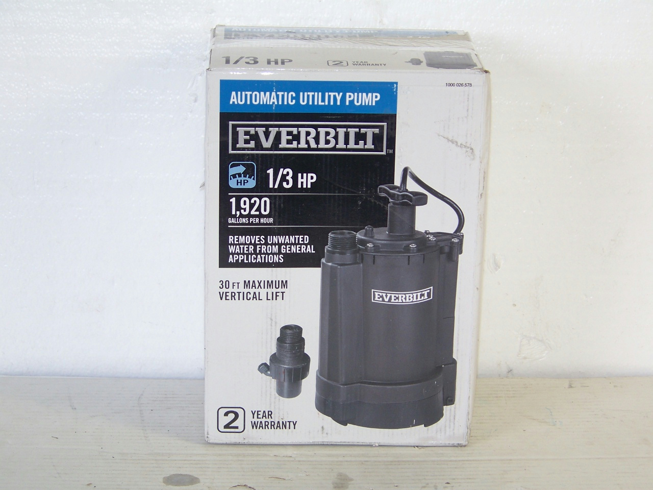 Simer 2873G 3/4 HP 4-Inch Submersible Well Pump - …
