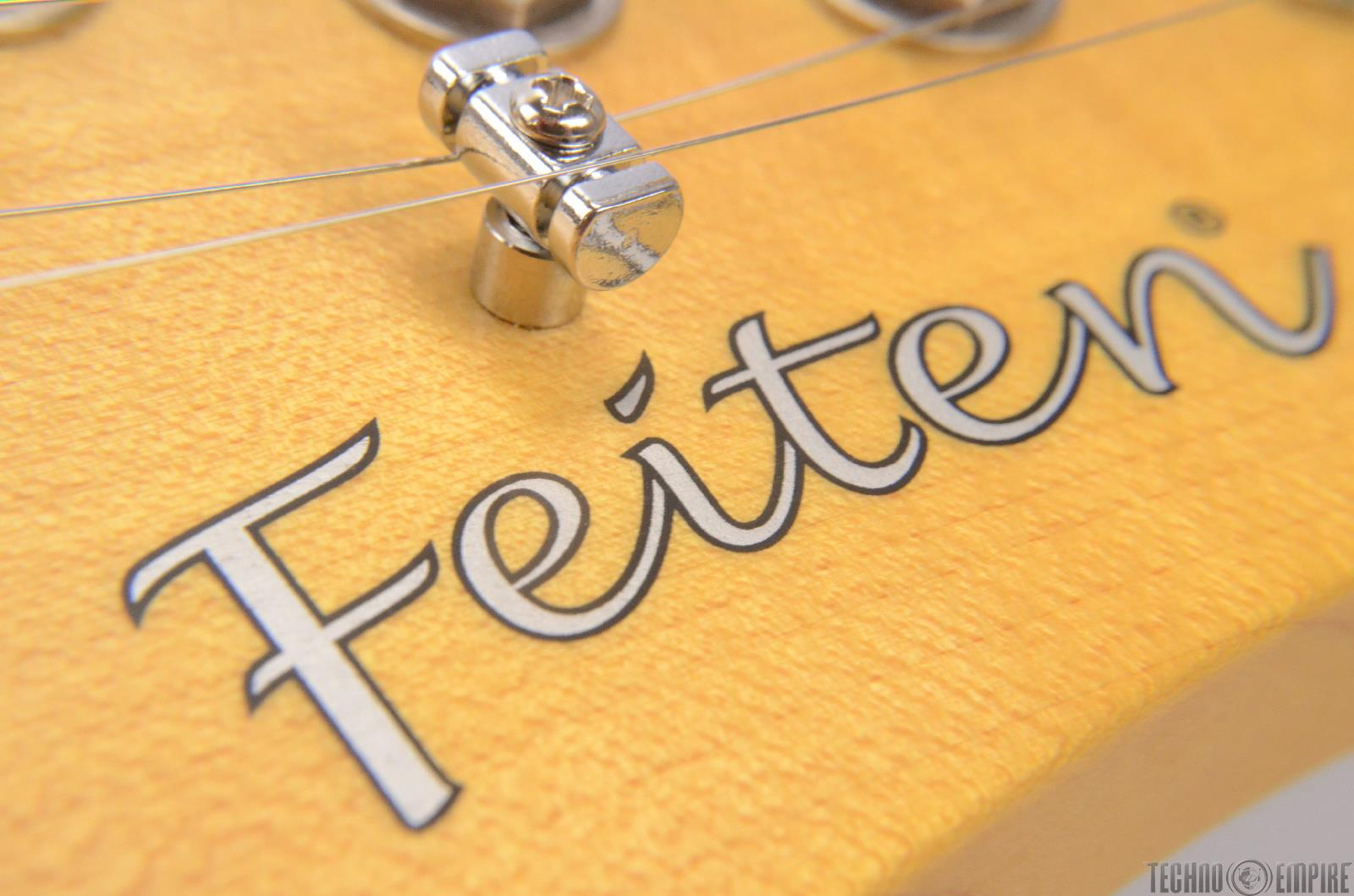 buzz feiten t pro electric guitar butter rosewood with hard case 23586 ebay. Black Bedroom Furniture Sets. Home Design Ideas