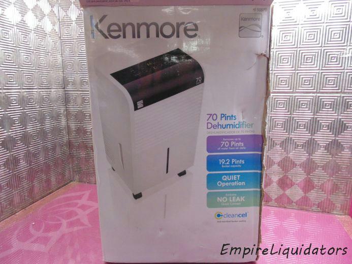 kenmore 70 pint dehumidifier manual