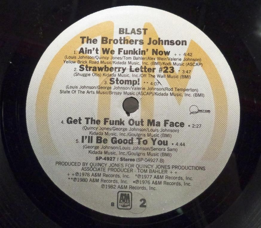 Brothers Johnson Blast