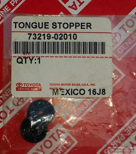 Oem Genuine Toyota Seat Belt Buckle Stopper Repair Kit