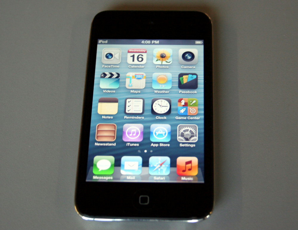 APPLE iPod Touch 4th Gen 32GB Black A1367 MC544LL/A Retina ...