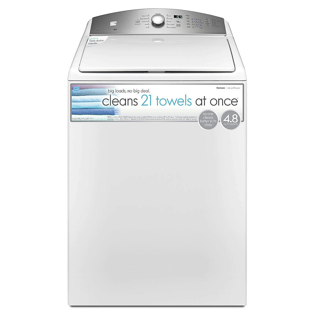 Pallet Kenmore 4 8 Cu Ft Top Load Washer Triple Action