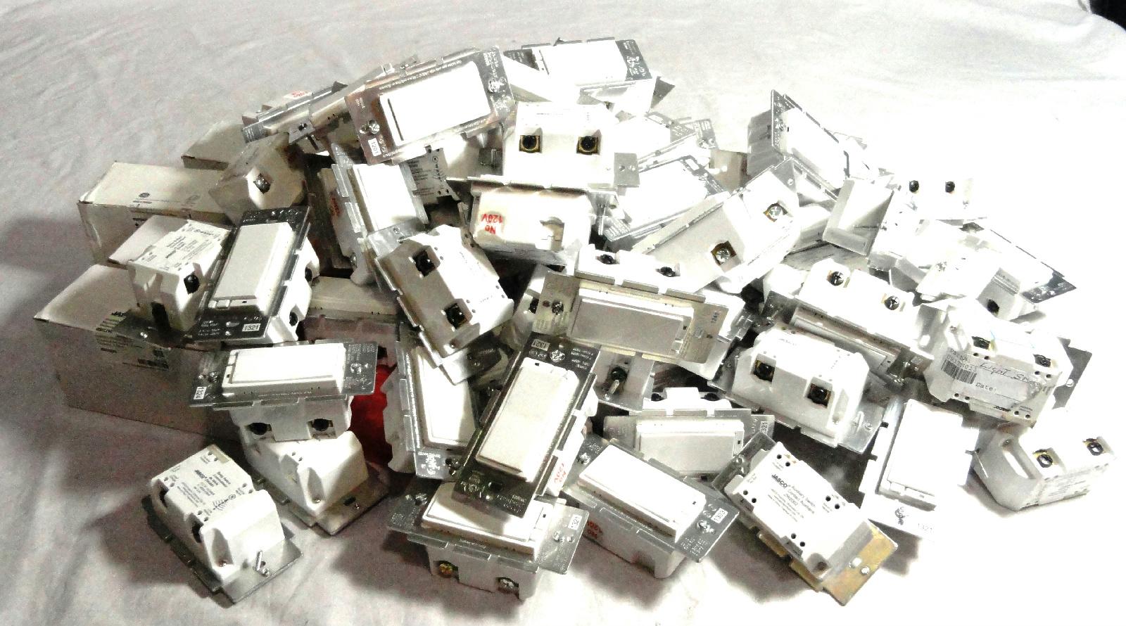 Zw2002 Jasco Relay Switch 45709 93x Assorted Ge Switches Zw4001 Zw3003