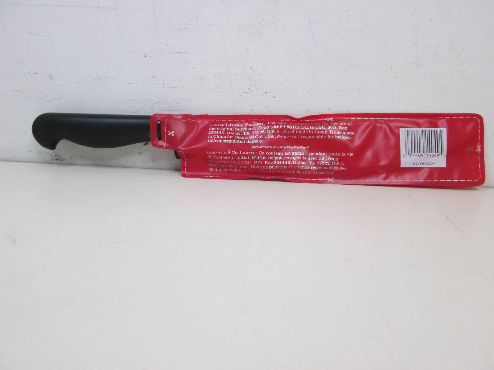 diamond cut french chef knife 8 blade new in package ebay. Black Bedroom Furniture Sets. Home Design Ideas