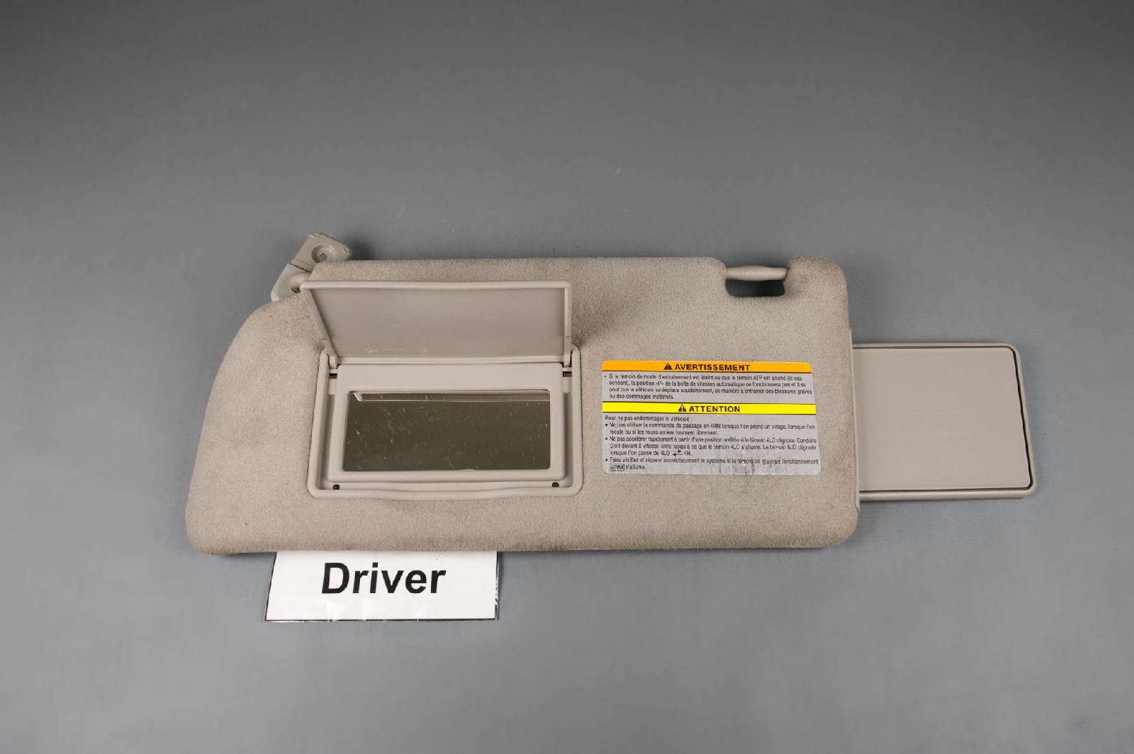 Used 2005 2012 Nissan Pathfinder Xterra Sun Visor Driver