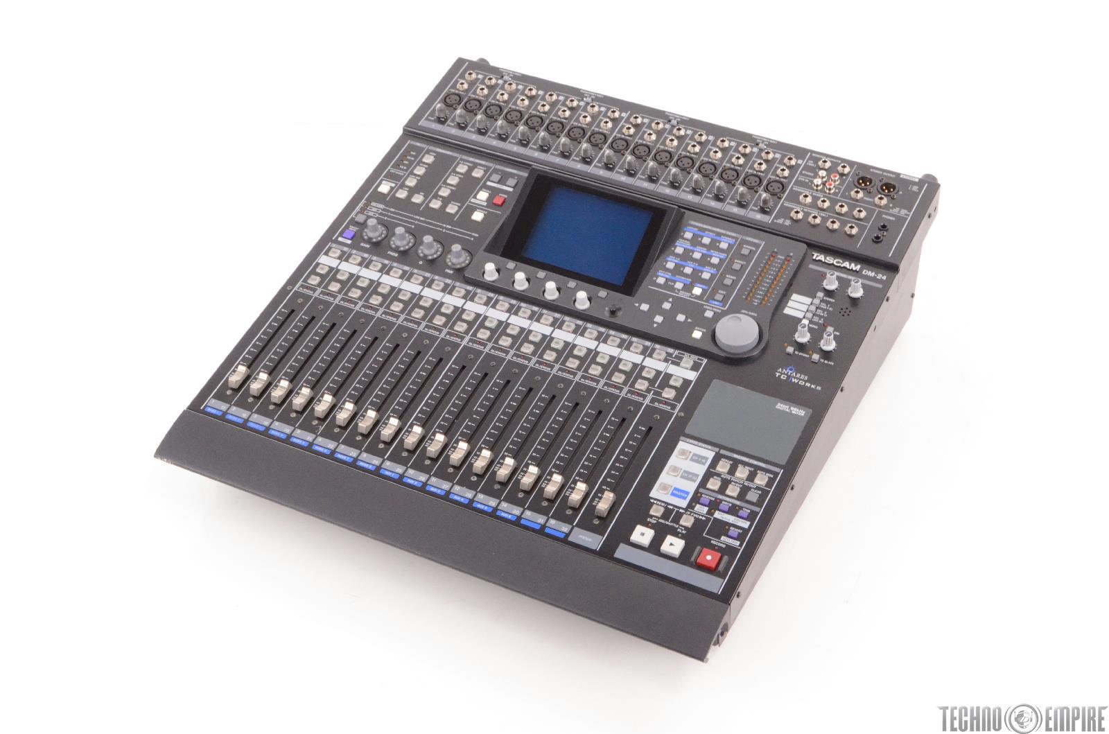 Digital Mixer Tascam : tascam dm 24 24 bit 96 khz digital mixing console mixer 23648 ebay ~ Russianpoet.info Haus und Dekorationen