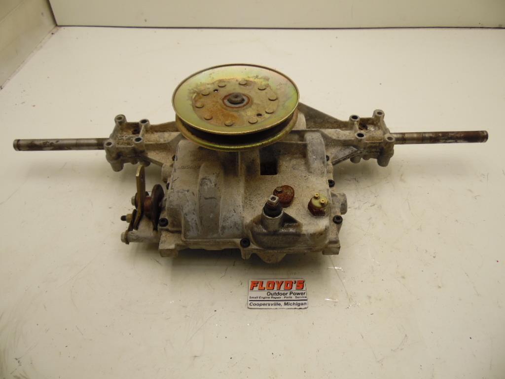 Broken Lawn Tractor Transmission : Scotts john deere s lawn tractor transmission