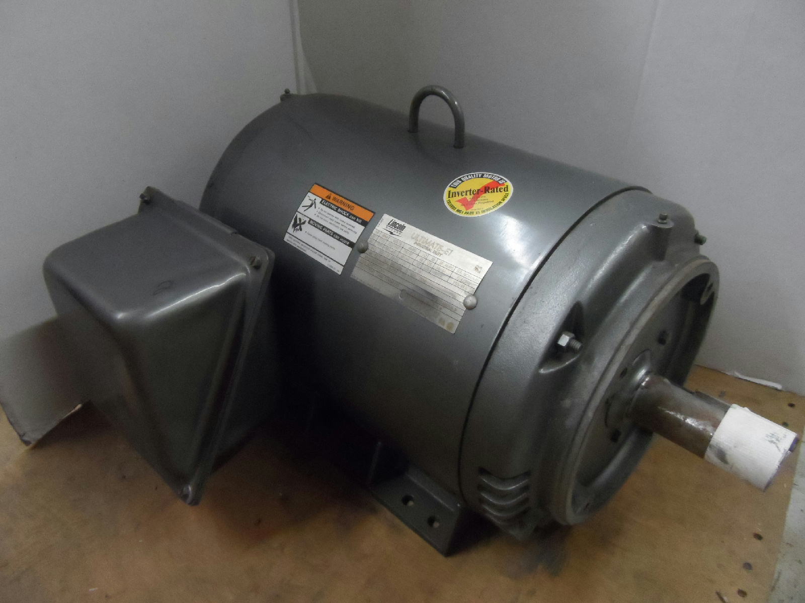 Lincoln Sd4p30tc61y Ultimate E1 Industrial Motor 30hp