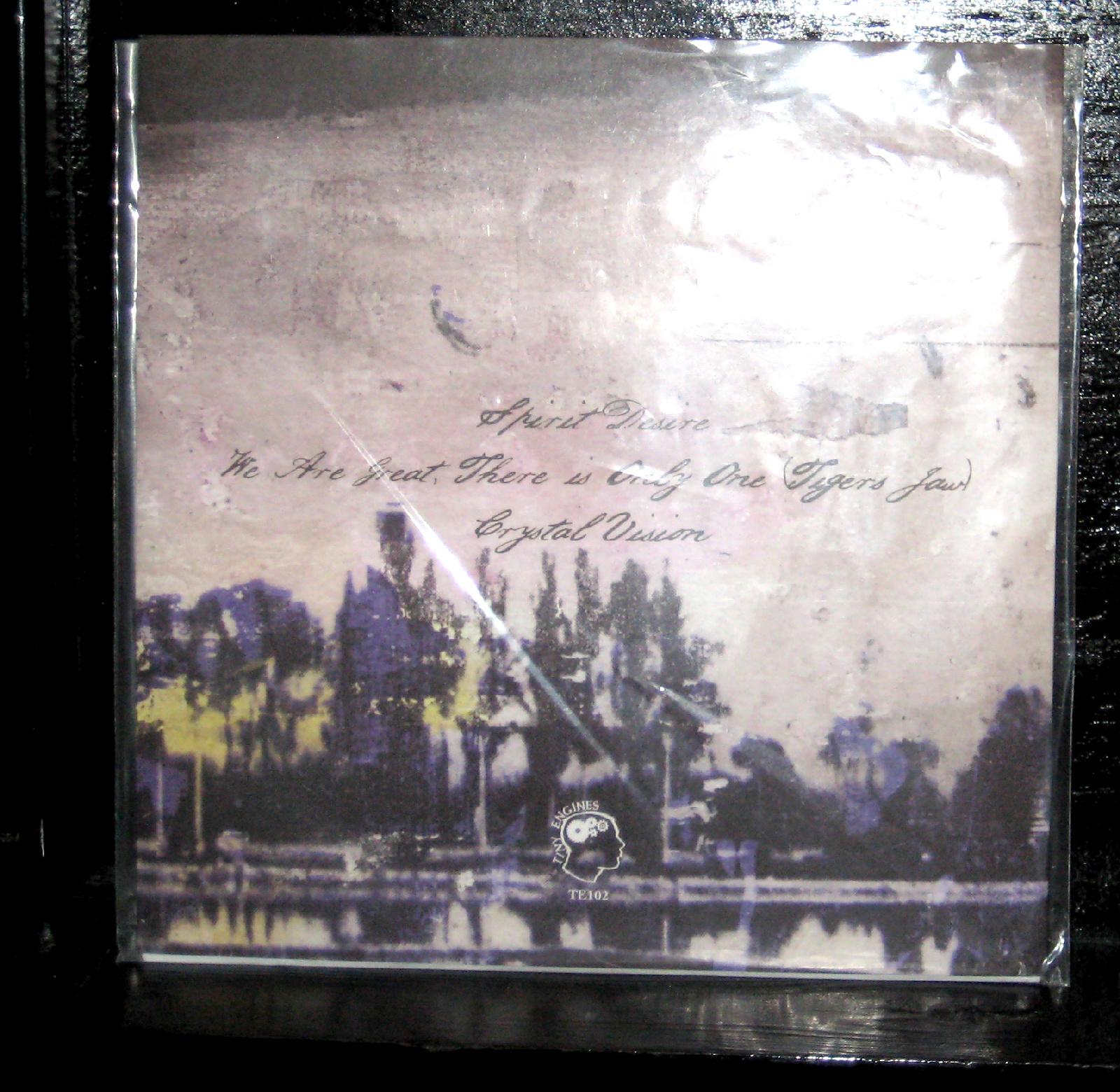 Tigers Jaw Spirit Desire Mint 7 Quot Opaque Red Vinyl 2013