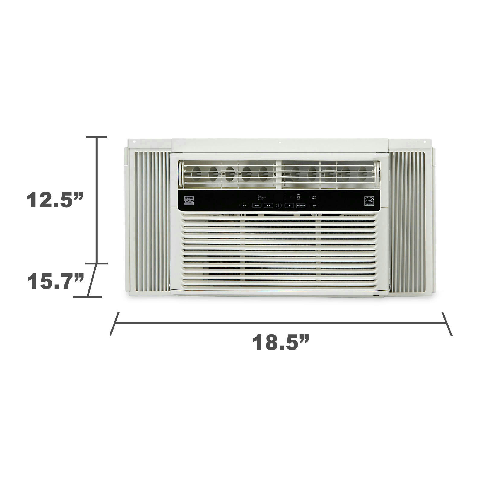 #585343 Kenmore 5200 BTU Single Room Air Conditioner With Remote  Reliable 14038 Single Room Air Conditioner No Window wallpaper with 1600x1600 px on helpvideos.info - Air Conditioners, Air Coolers and more