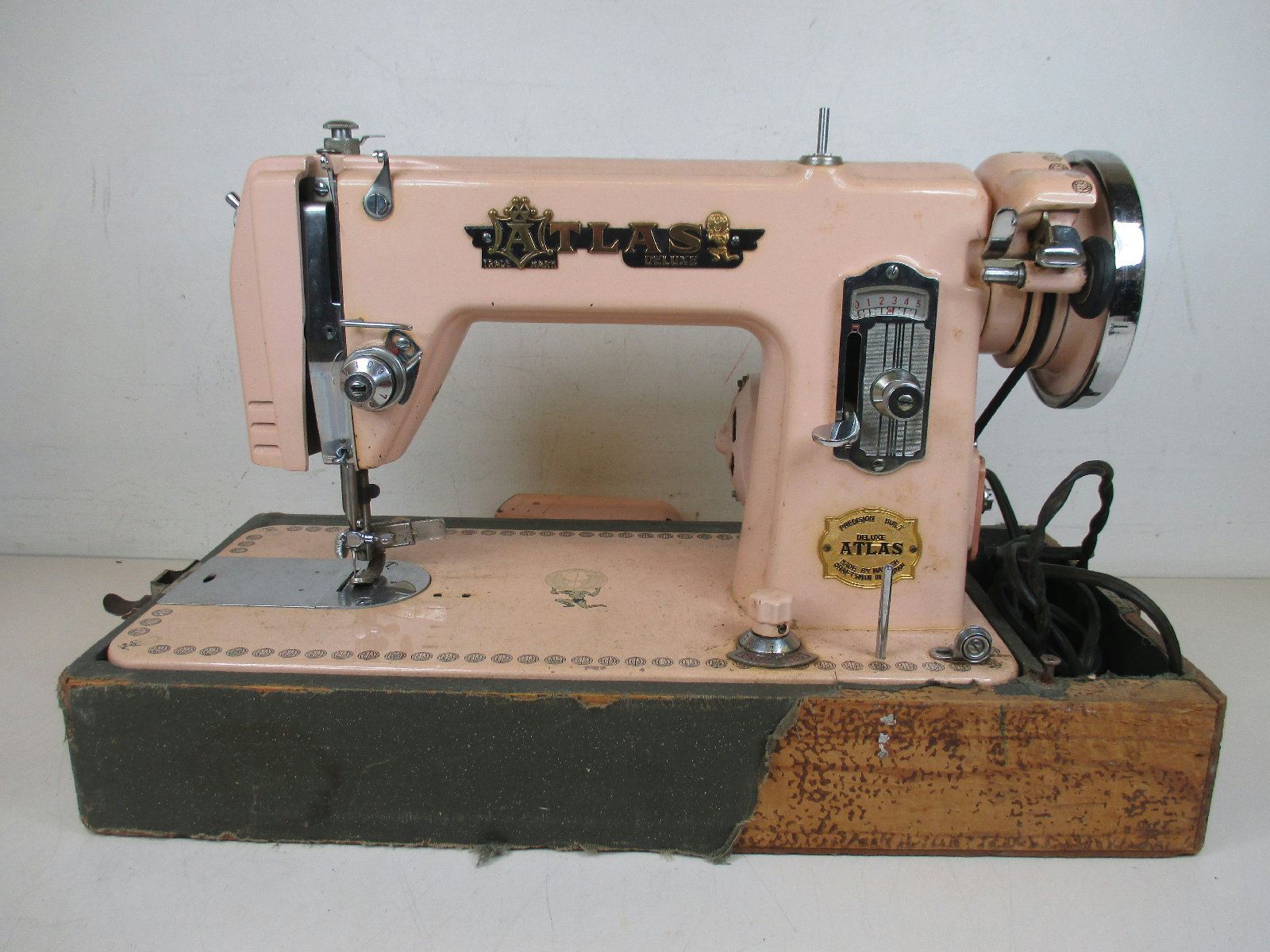 pink atlas sewing machine for sale