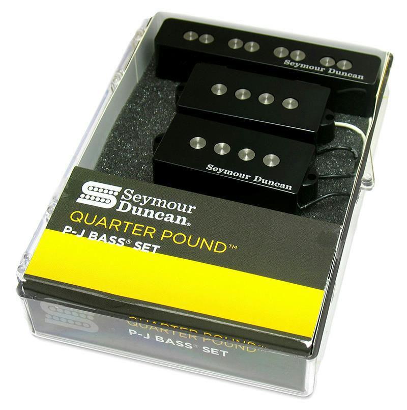 seymour duncan quarter pound p j bass guitar pickup set precision jazz ebay. Black Bedroom Furniture Sets. Home Design Ideas