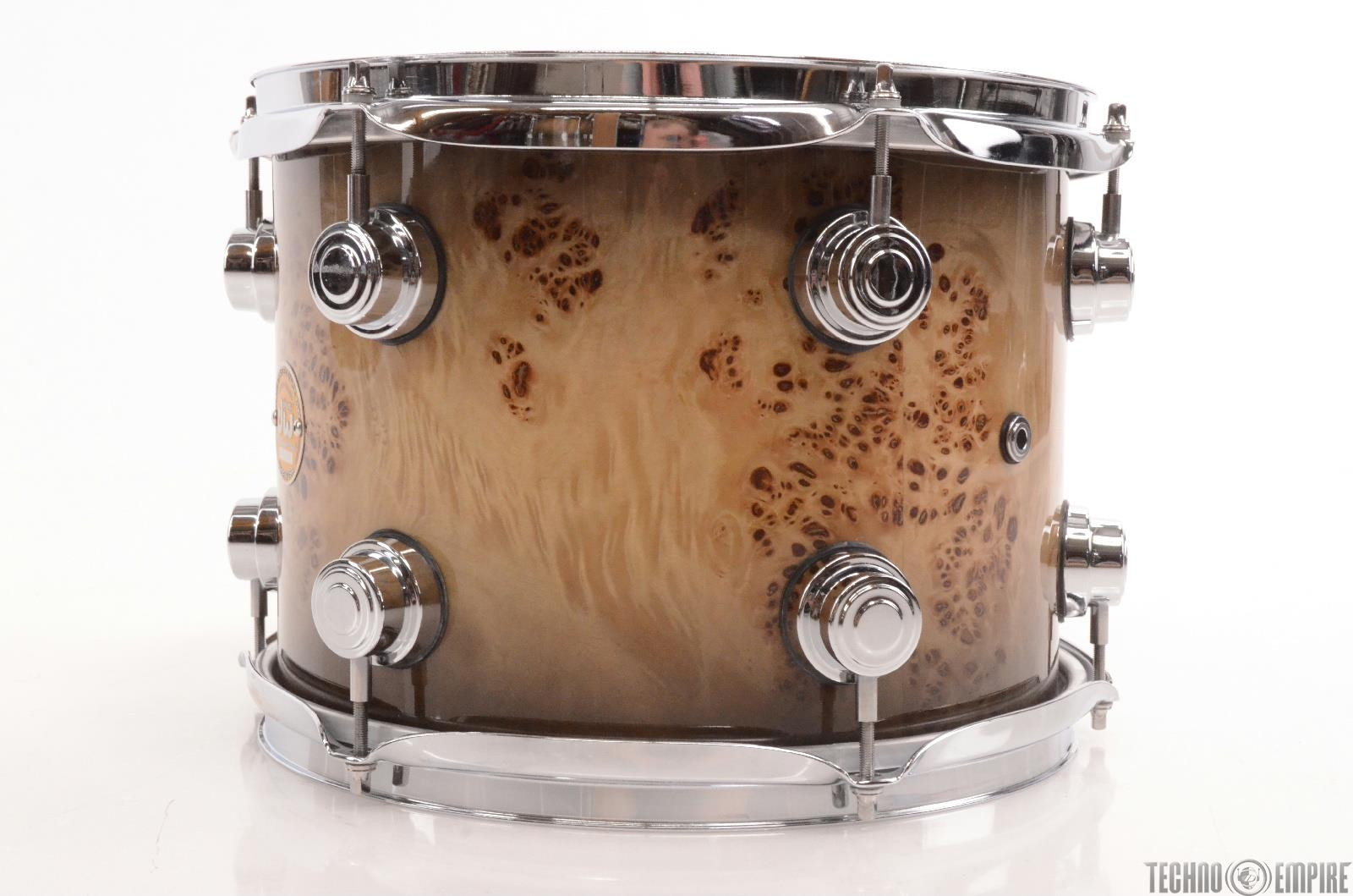 Dw Collectors Exotic 3 Piece Mapa Burl Drum Shell Pack