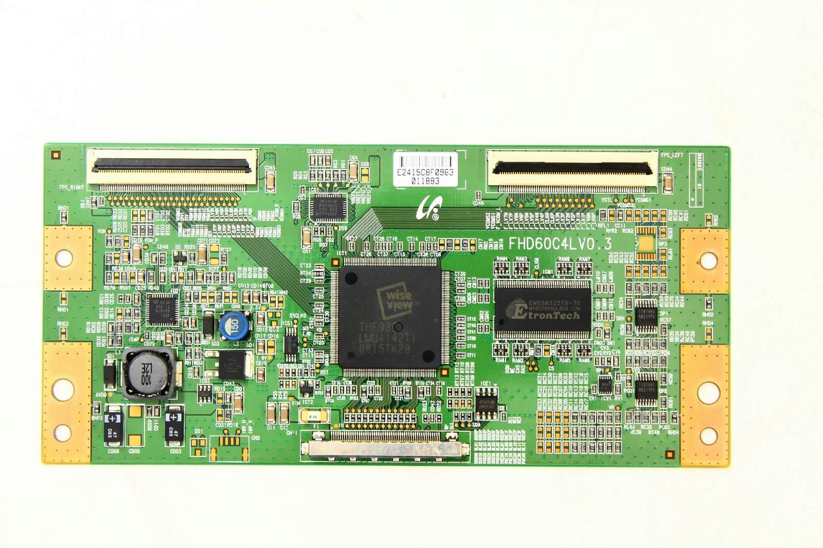 samsung tv t con board. samsung ln46a530p1fxza t-con board lj94-02415c tv t con a