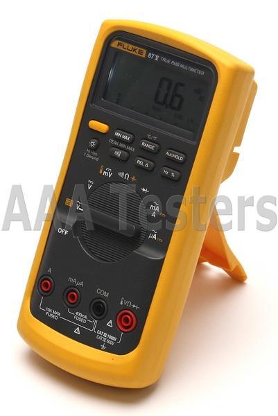 Fluke Multimeter 87 : Fluke v true rms industrial dmm digital multimeter w