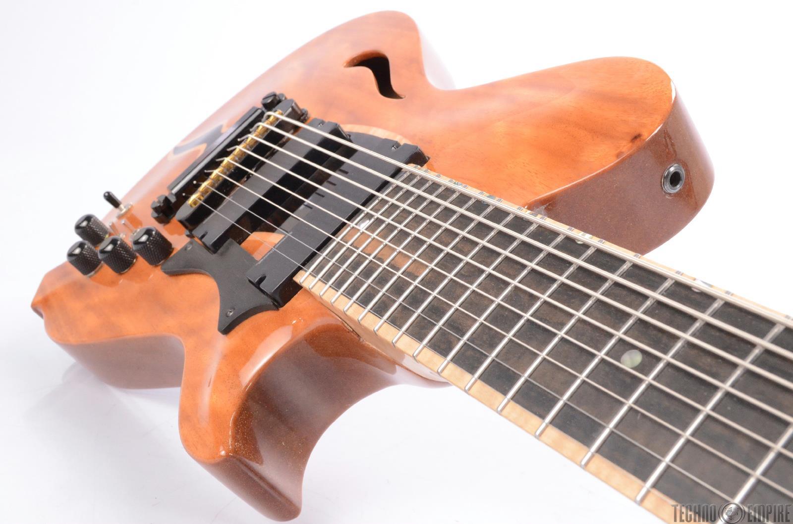 conklin crossover 8 jazz hollowbody 8 string electric guitar piezo midi 16613 ebay. Black Bedroom Furniture Sets. Home Design Ideas
