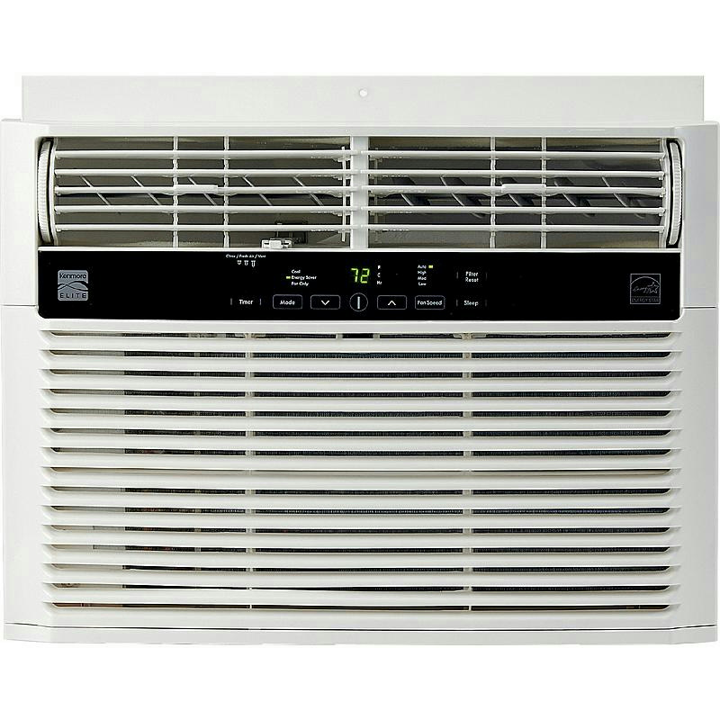 Pallet kenmore elite 25 000 btu 220v window mounted room for Window unit air conditioner malaysia