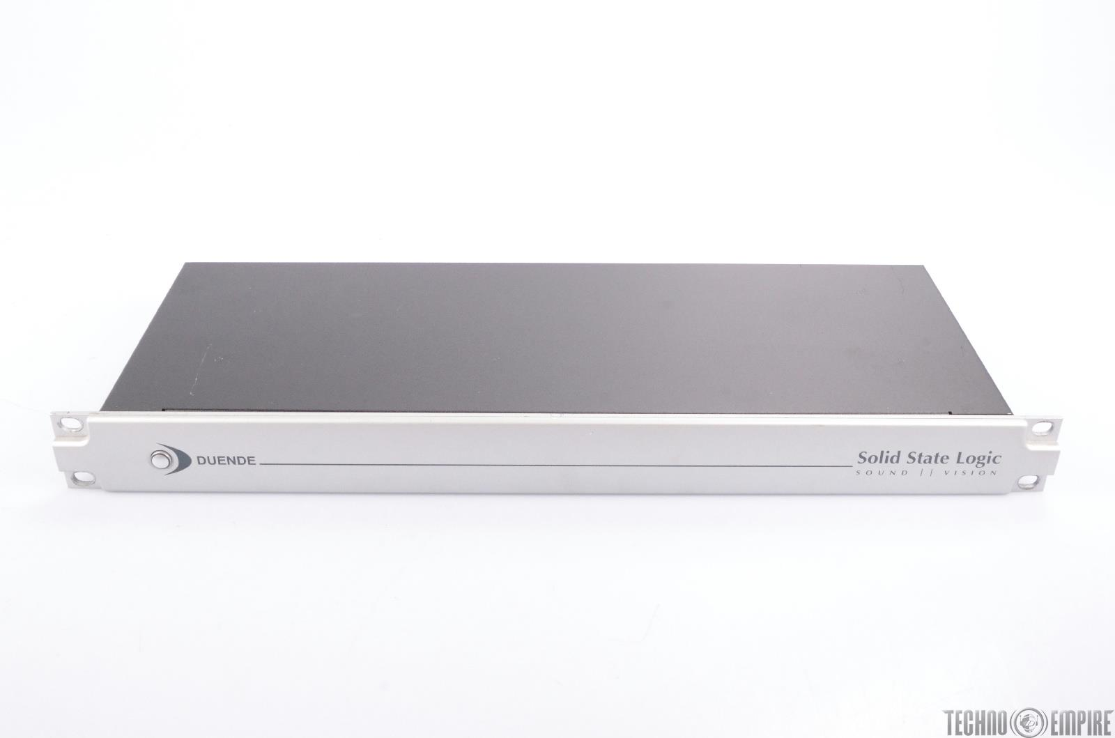 SOLID STATE LOGIC (SSL) Sound Vision Duende FireWire Plugin DSP Hardware #24348