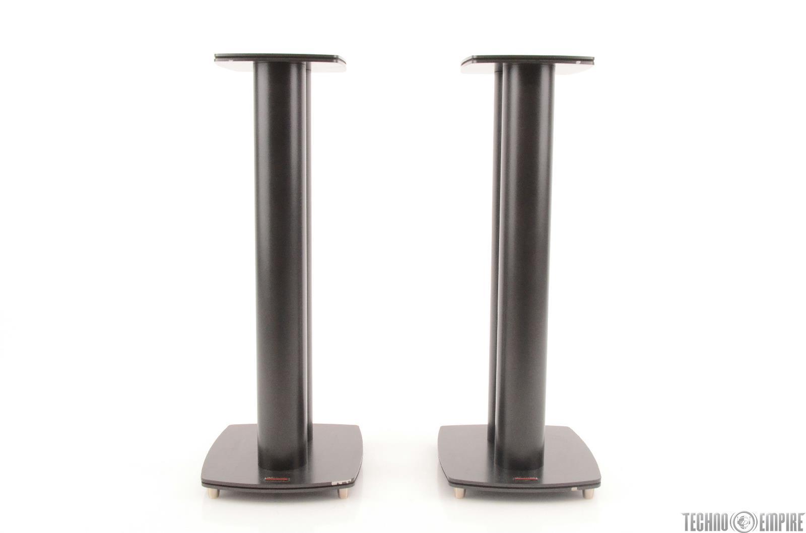 dynaudio stand 4 hi fi studio monitor speaker stands pair 24356 ebay. Black Bedroom Furniture Sets. Home Design Ideas