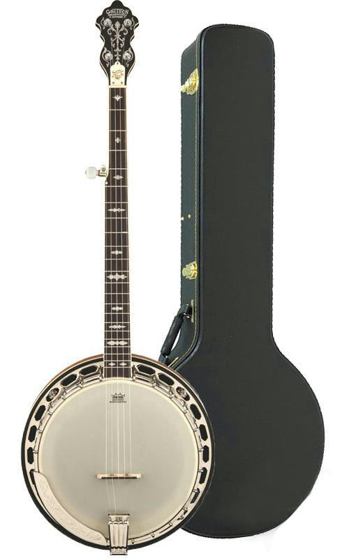 gretsch g9420 broadkaster supreme roots collection 5 string banjo with case ebay. Black Bedroom Furniture Sets. Home Design Ideas