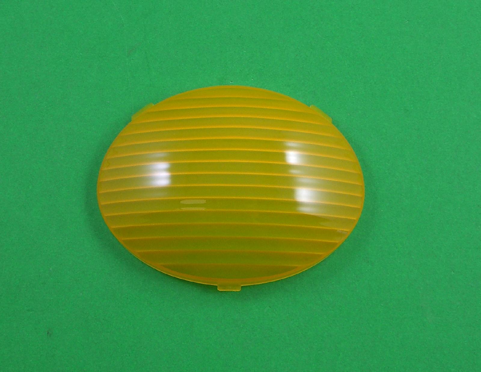 Fleetwood 353250 Oval Rv Porch Light Lens Amber Ebay