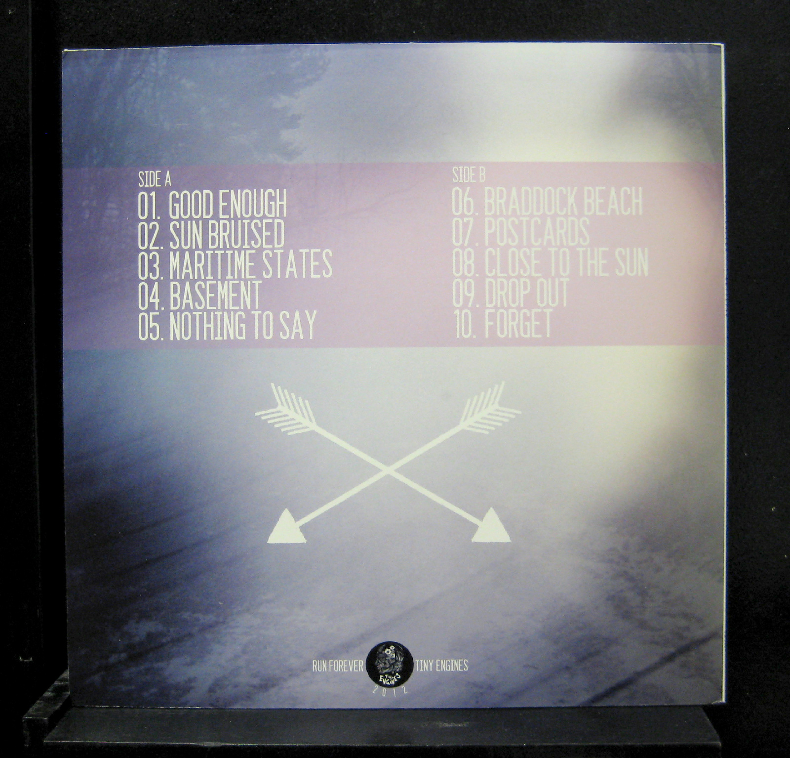 Run Forever Settling Lp Mint Te117 Tiny Engines 2012 Pink