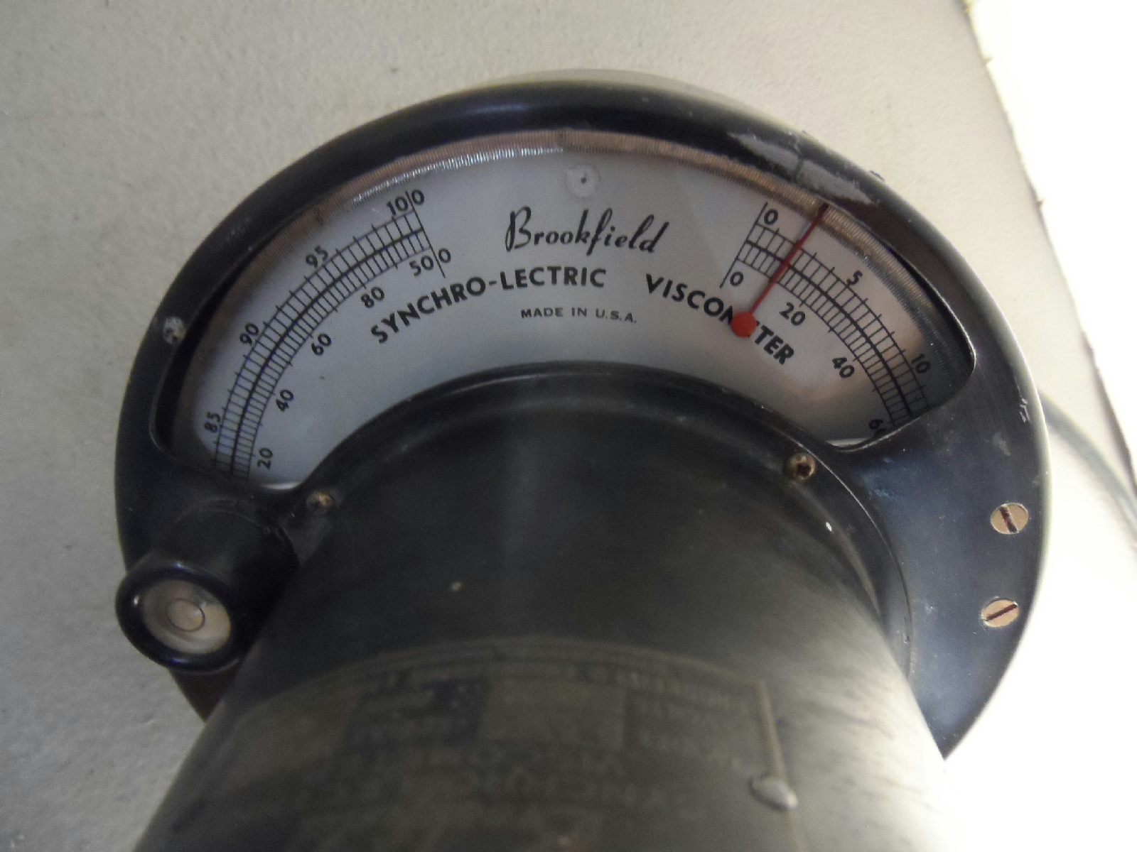 Brookfield synchro-lectric viscometer
