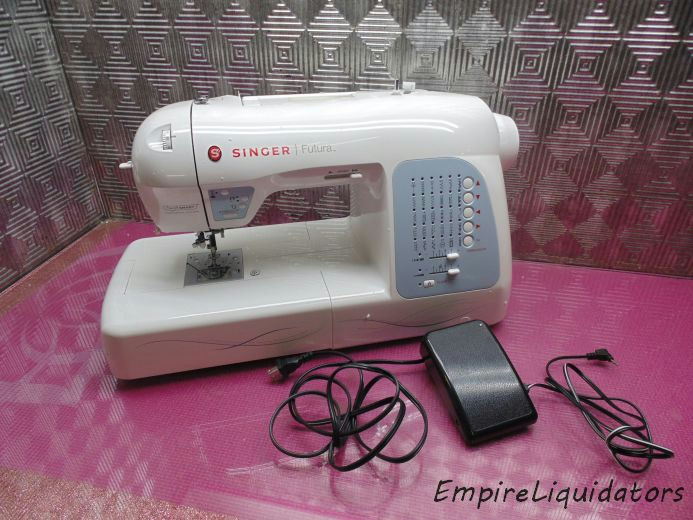 singer xl 400 embroidery machine
