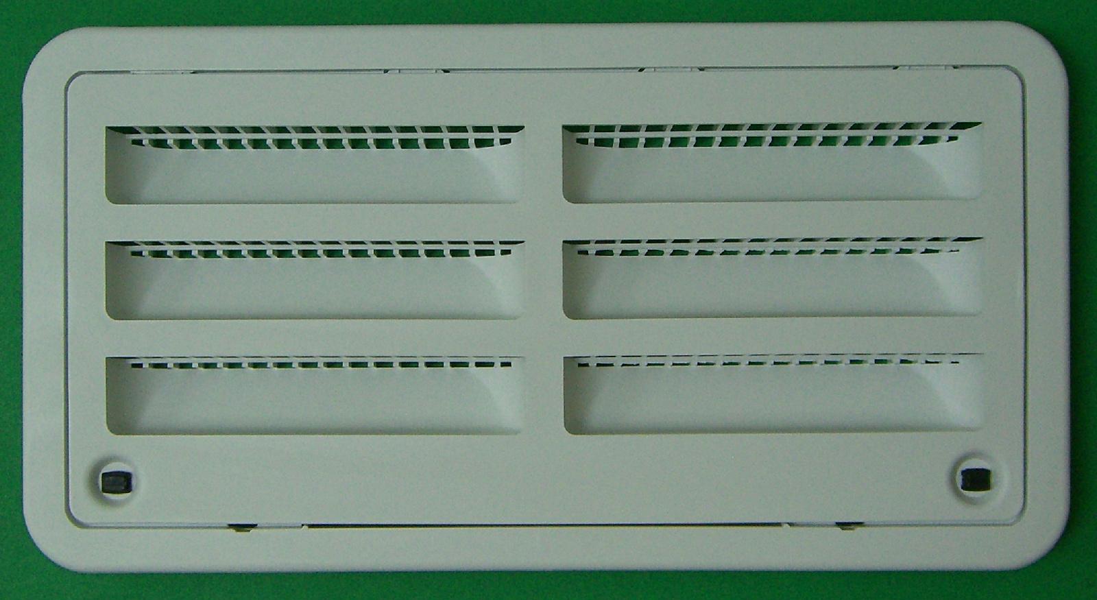Dometic 3109492003 Rv Refrigerator Side Access Door Vent White