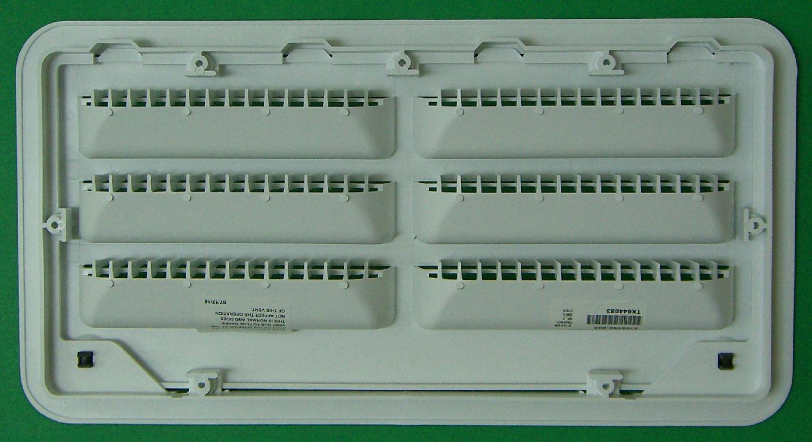 Dometic 3109492003 Rv Refrigerator Side Access Door Vent