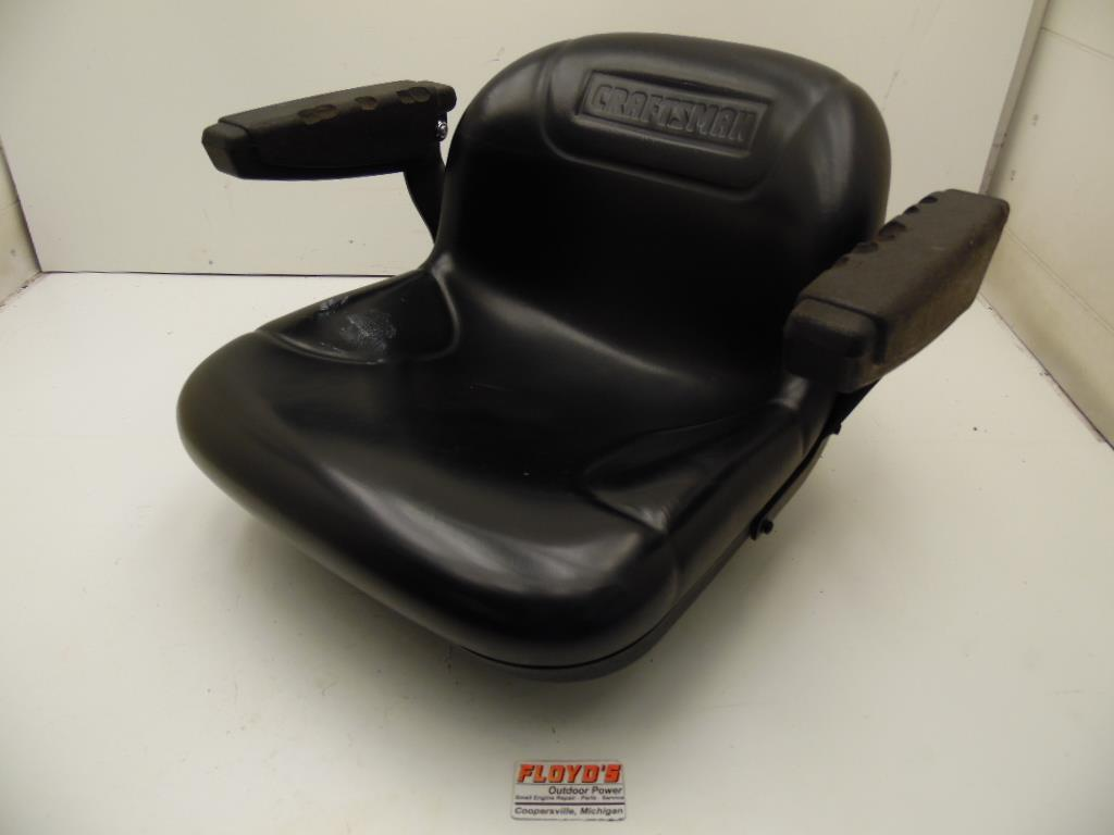 Used Craftsman Tractor Seat : Craftsman lawn tractor seat w arm rest