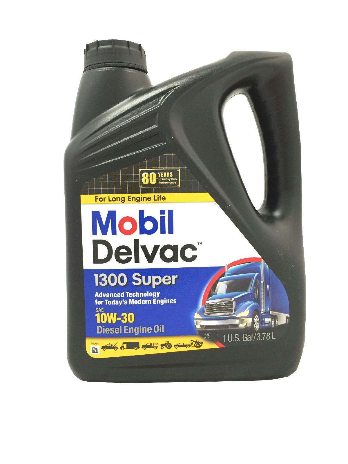Mobil delvac 1300 10w30 diesel motor oil 1 gallon ebay for Gallon of motor oil price