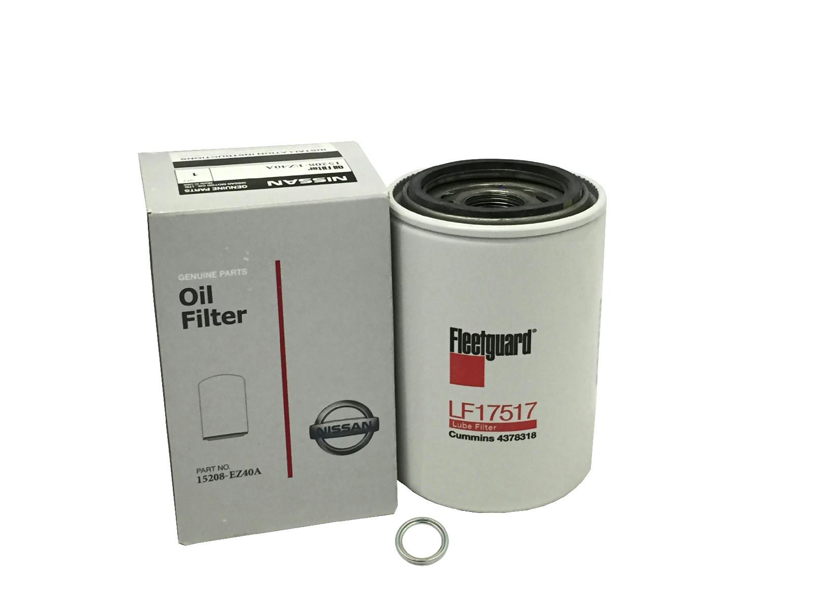 nissan d21 fuel filter genuine nissan oem oil filter 15208-ez40a titan xd 5.0 v8 ... #3