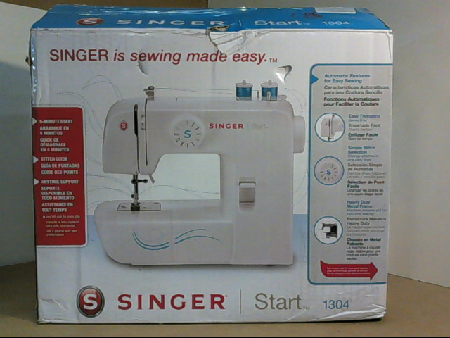 singer 1304 start free arm sewing machine with 6 built in stitches