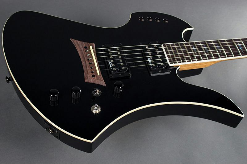 bc rich mockingbird polarity electric guitar with piezo black finish. Black Bedroom Furniture Sets. Home Design Ideas