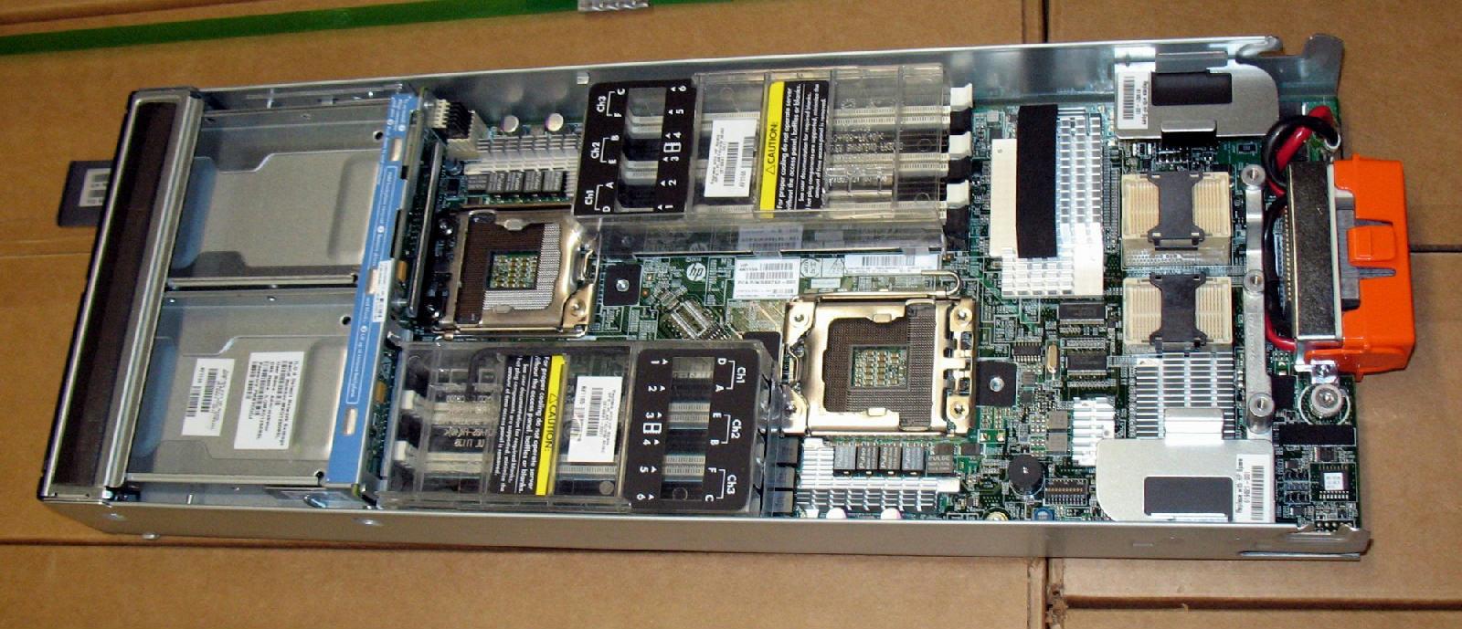 Hp Proliant Bl460c G7 Blade Server Cto Base Model Barebone