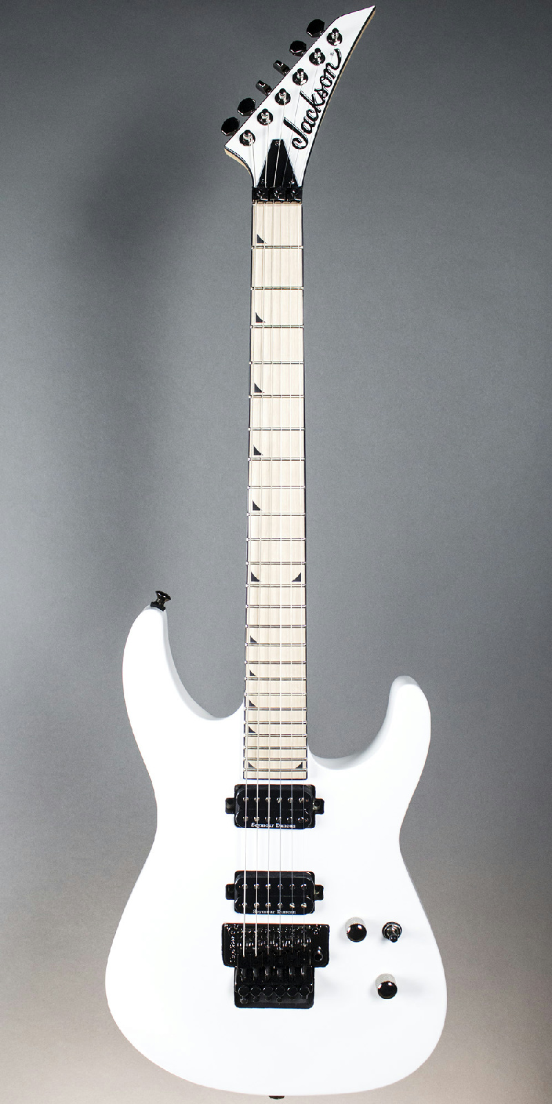 jackson pro series sl2m soloist electric guitar snow white finish. Black Bedroom Furniture Sets. Home Design Ideas