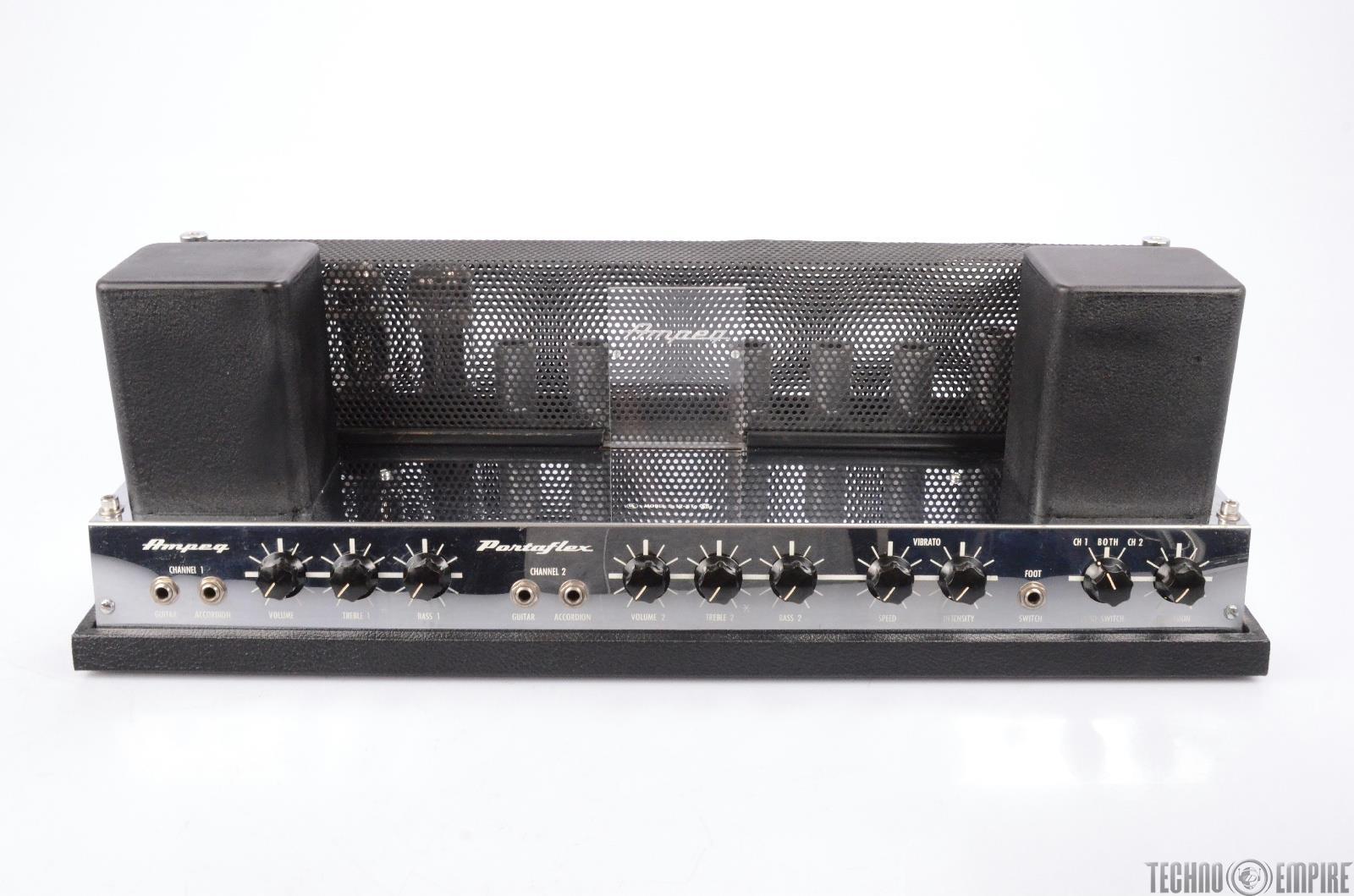 1967 ampeg b 12 xt portaflex vintage tube amplifier guitar amp head 24831 ebay. Black Bedroom Furniture Sets. Home Design Ideas